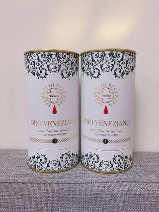 🚚 義大利威尼斯 蕾莉歐 威尼斯之永恆全效緊緻黃金精華液 龍血樹精華液