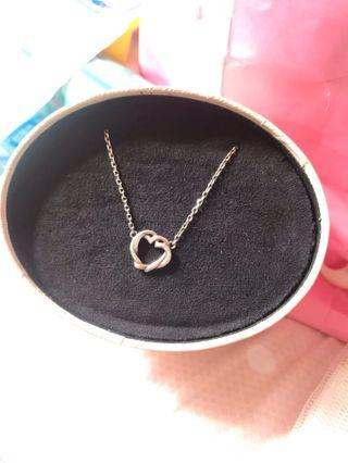 七折 Links of London 頸鏈 不變色  純銀 S925 sliver necklace 心形 #summer19