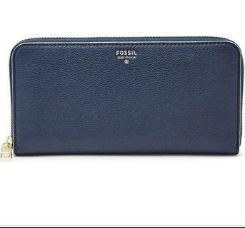Fossil Zip Around Wallet
