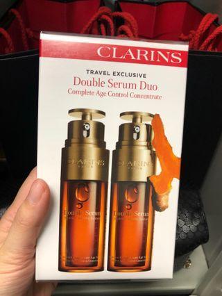 〈有現貨〉(員工最抵價😍)皇牌Clarins Double Serum 賦活雙精華 單支 50ml 專櫃已升價 (專櫃價900, 內部價$688),100%專櫃正貨,有批號供參考