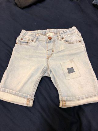兒童牛仔短褲
