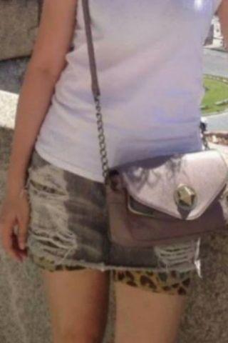 izzue 迷你牛仔短裙 mini denim skirt