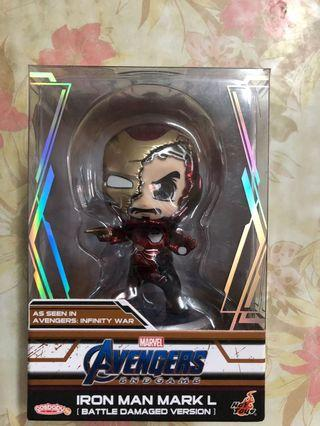 Hottoys Cosbaby 戰損 Ironman Marvel Avengers 4 End Game 復仇者聯盟