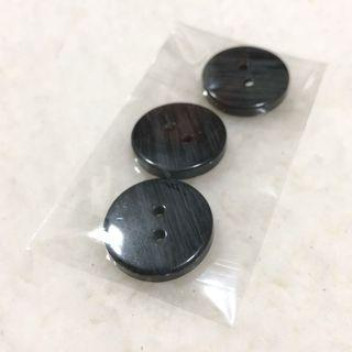 Large Black Buttons