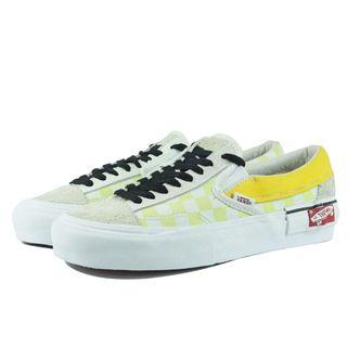 Vans Slip On Cut and Paste Yellow.