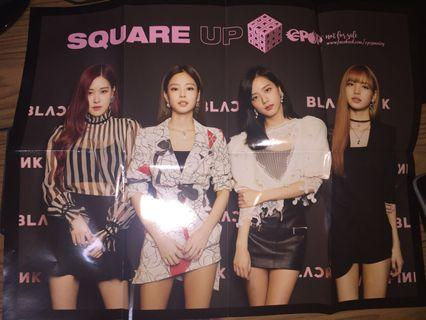 Blackpink : EPOP Square Up Poster (All Members)