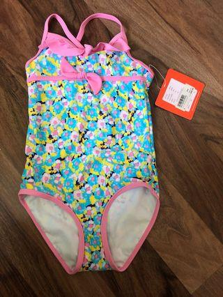 Swimsuit with tag