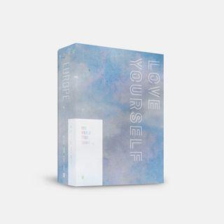 【GO】BTS World Tour Love Yourself Europe DVD