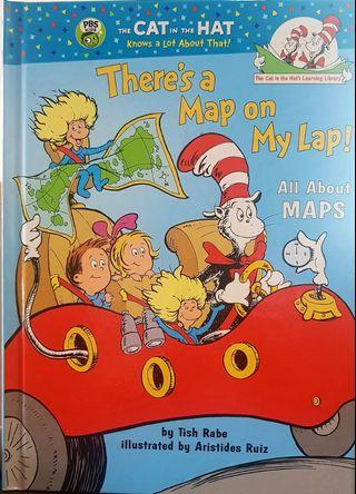 THERE'S A MAP ON MY LAP! :ALL ABOUT MAPS (Cat in the Hat's Learning Library)