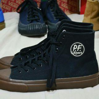 PF Flyers All American Hi (Black/Gum)