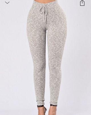 Grey fashion nova leggings