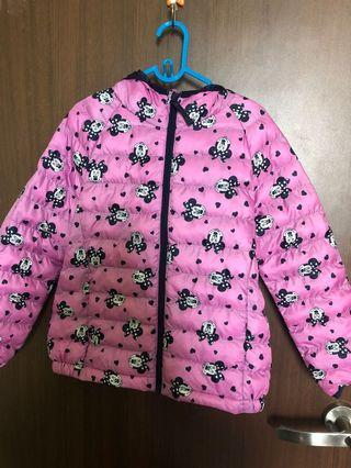 Preloved Minnie Mouse down jacket