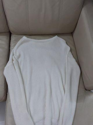 Cream Ollie Sweater Pullover Knit