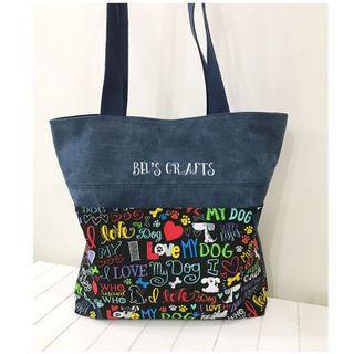 🚚 Handmade casual tote bag