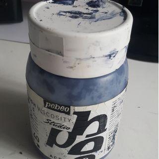 顏料 Pebeo Acrylics Paint (深藍, 500ml)