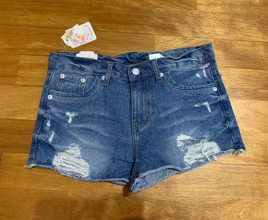 🚚 (全新)牛仔短褲