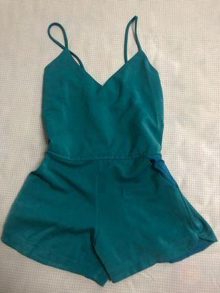 TOSCA MINT JUMPSUIT