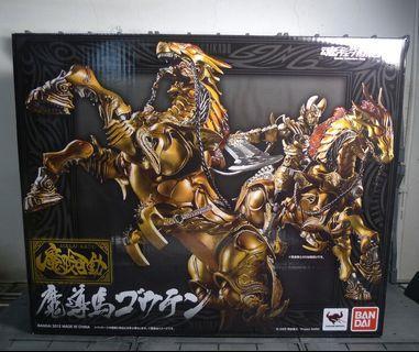 全新(新版魔戒可動暗黑騎士,新版魂限魔導馬雷剛,新版黄金騎士牙狼,新版魂限魔導馬轟天