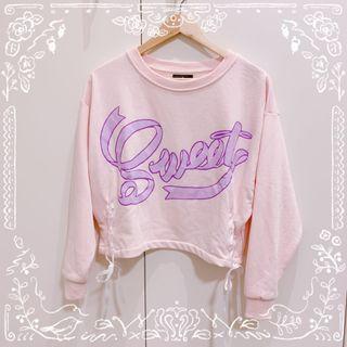 Listen Flavor Lace Up Sweatshirt