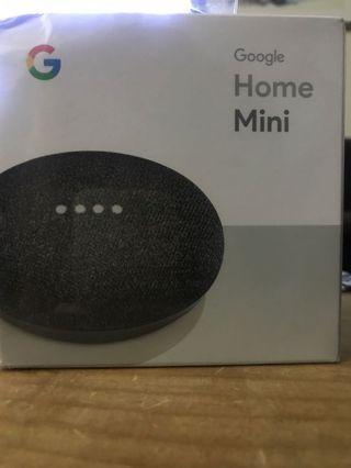 New in Box! Black Google Home Mini
