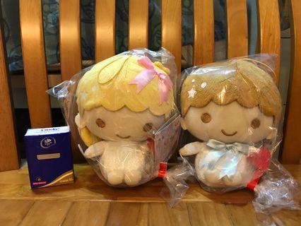 Little Twins Star Kiki & LaLa公仔 #日本景品 #Sanrio #toreba