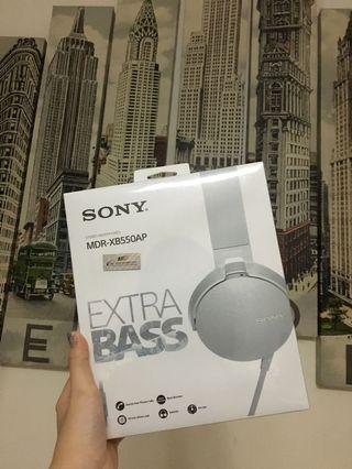 Headphone Sony MDR-XB550AP