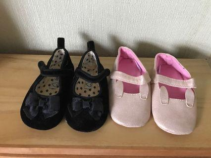 M&S Mothercare Pram Shoes 12-18 months