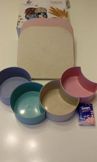 Candy box 麥香方形果盒