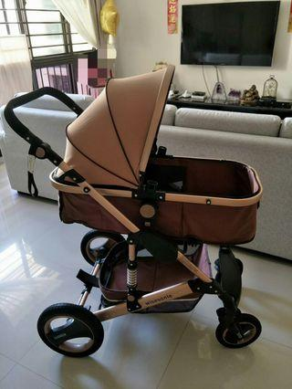 Almost new Wisesonle Stroller