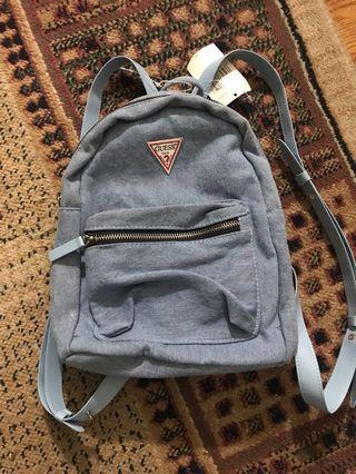 BNWT Guess Mini Denim Backpack