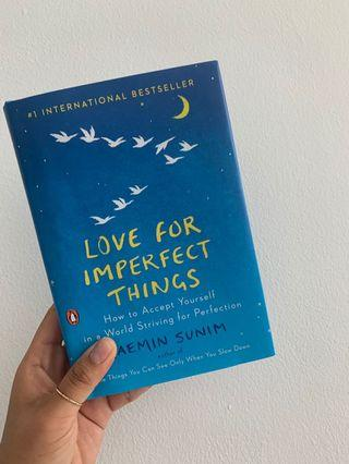 Hardcover - love for imperfect things.