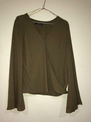 Khaki Long sleeved
