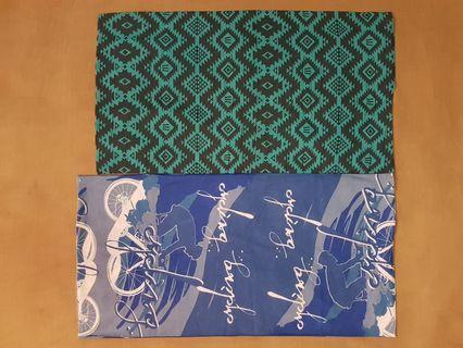 NEW bandana green blue $4 each