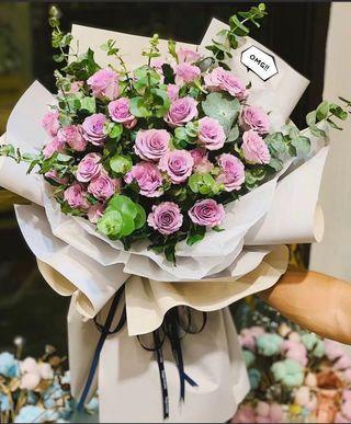 Spray rose bouquet 🌸 gift flowers 🌸 birthday flowers 🌸 graduation bouquet 🌸