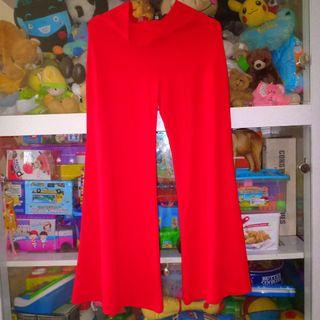 Celana Kulot Merah