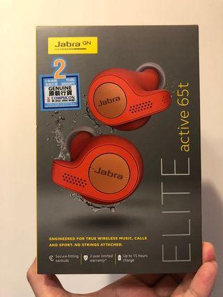 Jabra Elite 65t Active True Wireless Earphone Copper Red