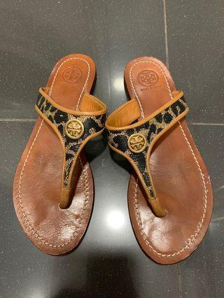 80%new Tory Burch sandals size7