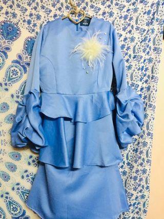 Baju kurung preloved WANZAR