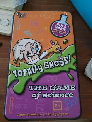 Totally Gross game of science