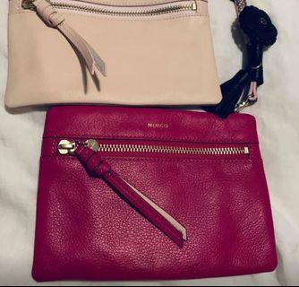 Mimco Pouches with Crossbody Strap & Enhancers