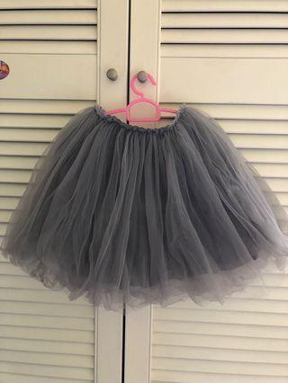 🚚 Tulle Tutu Skirts, Black/Grey/Purple