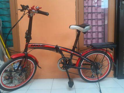 Jual Murah Sepeda Lipat Exotic