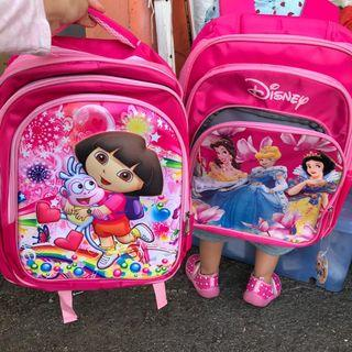 Kids School Bag dora  and princess