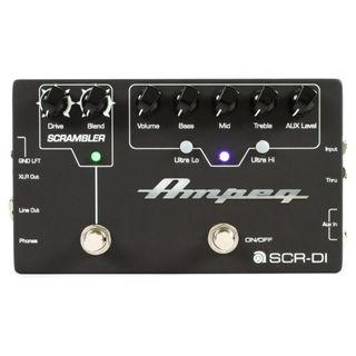 Ampeg SCR-DI Ampeg Bass Preamp with Scrambler Overdrive + optional carrying case at $29 (in stock)