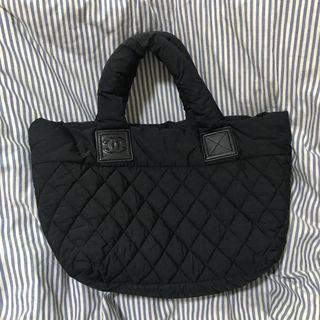 Chanel 黑色 中款 空氣包