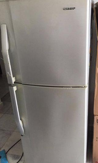 sharp fridge