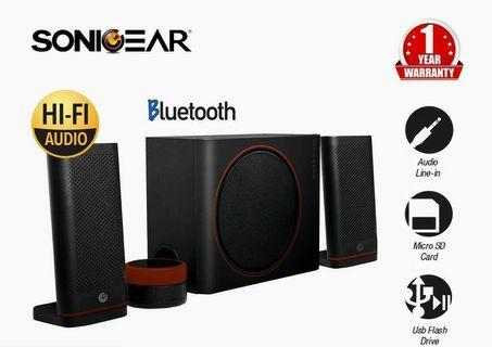 Sonic Gear Space 5 HiFi 2.1 Speaker & S/Woofer