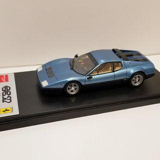 1/43 Make Up Ferrari 512BB metallic blue bbr looksmart autoart kyosho spark fujimi