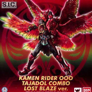 全新正版魂限SIC Kamen Rider OOO Tajadol Combo (Lost Blaze Ver.)鳥系,SIC66 Putotyra Combo恐龍系