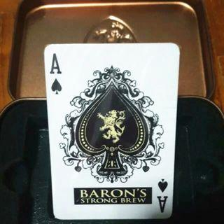 Collectible Baron's Playing Cards - New/Sealed with Original Container (Tampines Only)